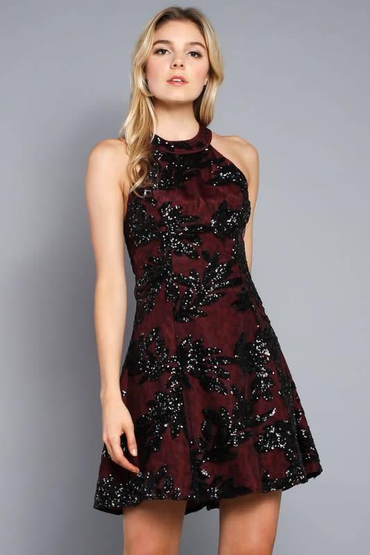 Do + Be Carlene Sequin Dress