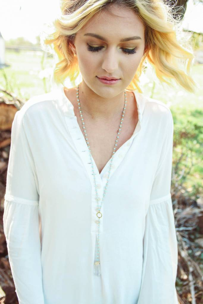 Shira Melody Wild Sun Necklace