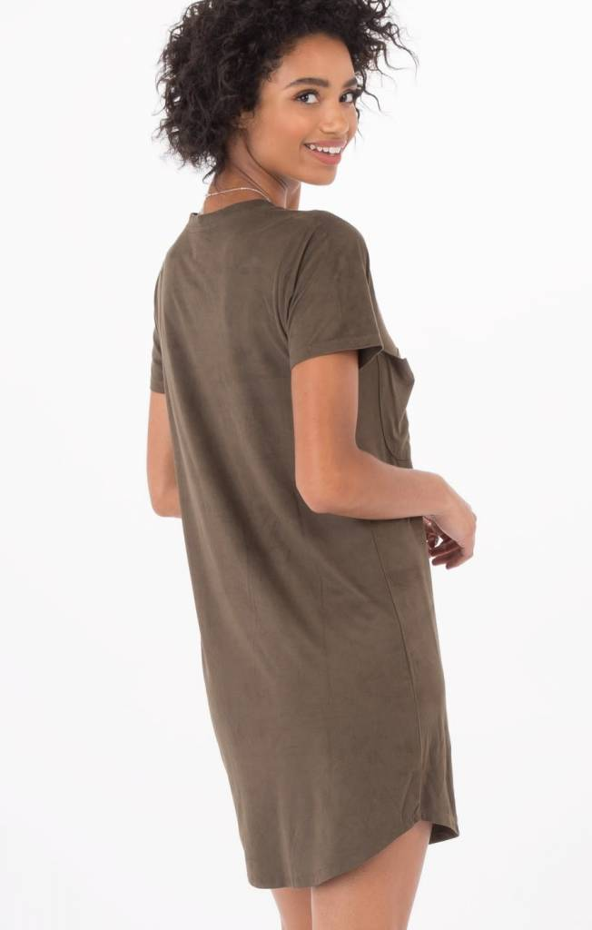 Z Supply Faux Suede Dress