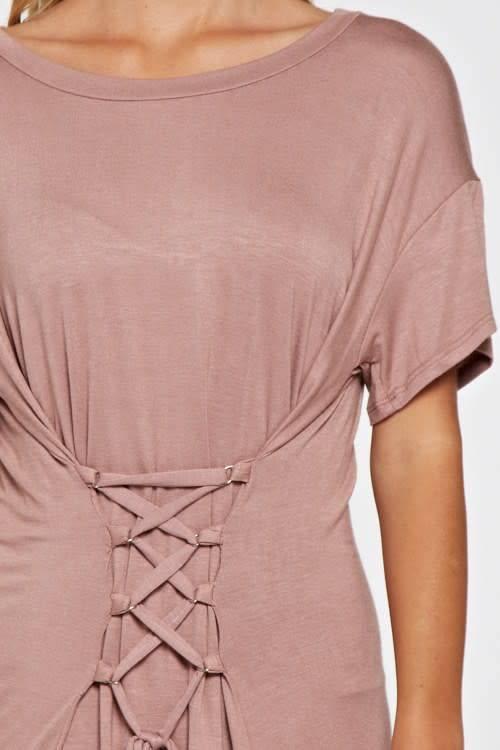 Maronie Corset S/S Dress