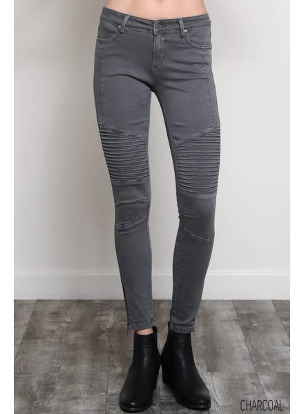 Wishlist Charcoal Moto Leggings