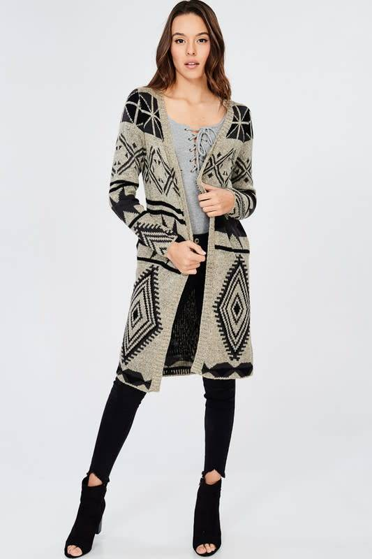 Wishlist Jolie Printed Sweater