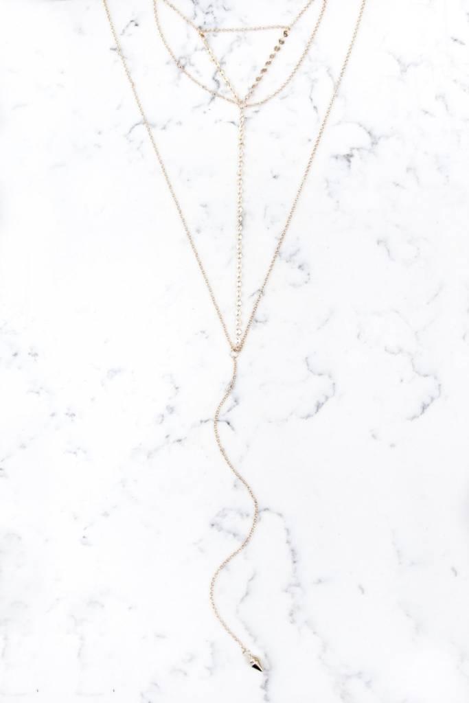 Shira Melody Holland Bib Necklace
