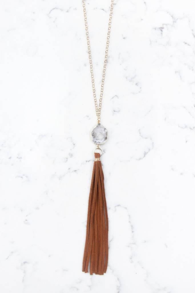Shira Melody Dottie Necklace