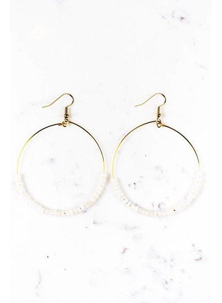 Shira Melody Ava Hoop Earrings