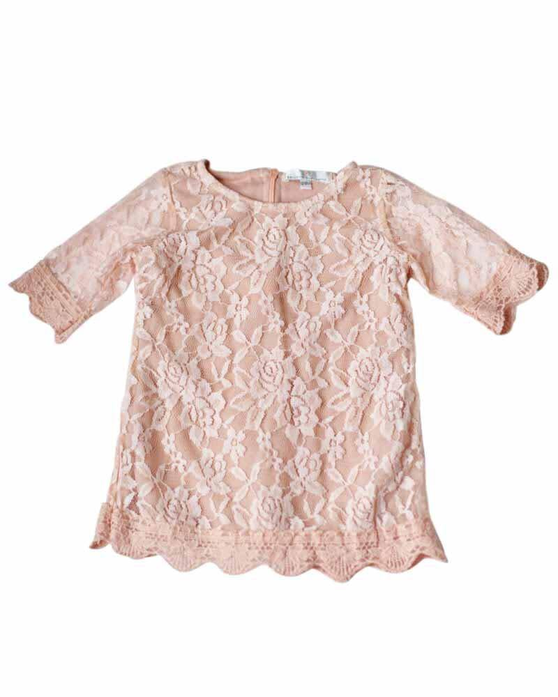 Bailey's Blossoms Lace Lovers Mini Dress
