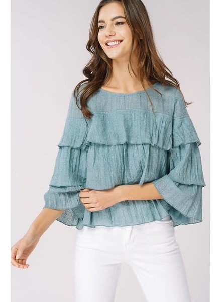 Listicle Amy Layered Top