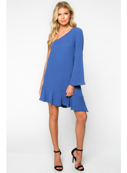 Everly One Shoulder Dress