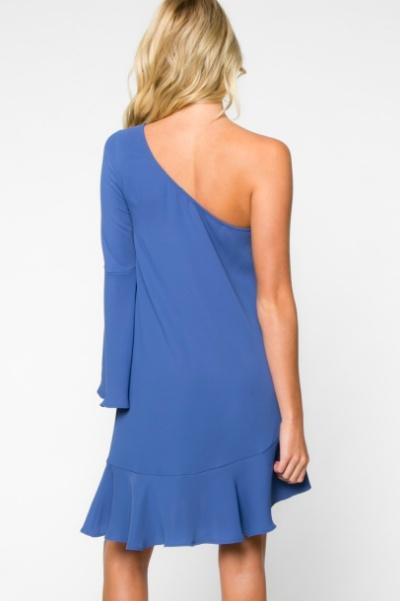 Everly One Shoulder Dress