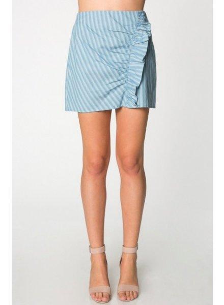 Everly Striped Skirt
