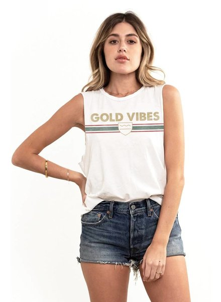 Saltwater Luxe Gold Vibes Tank
