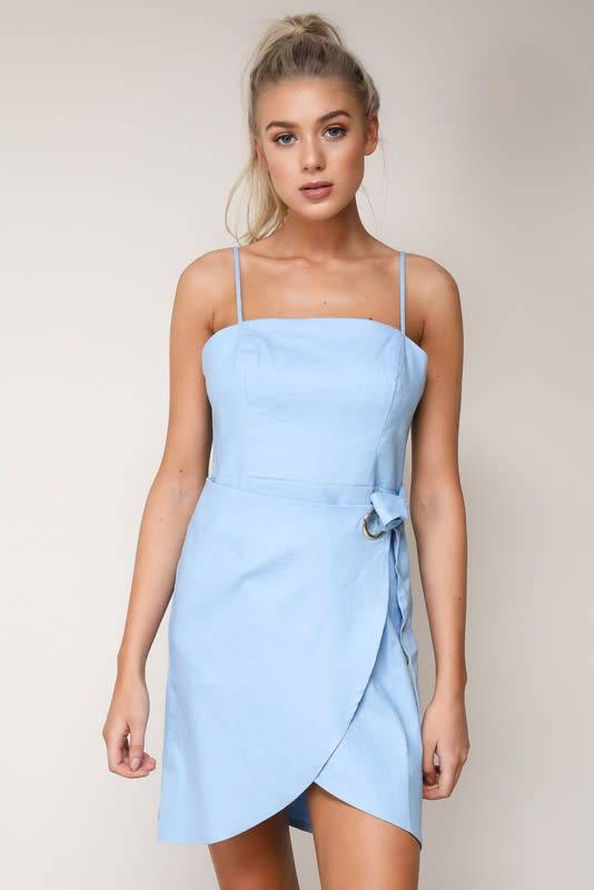 Blue Blush Addie Dress