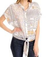 Olivaceous Goddess Top