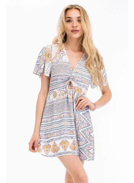 Olivaceous Goddess Dress