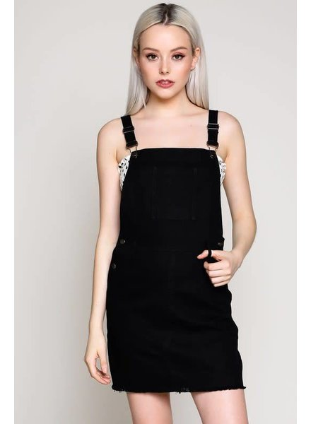 Blue Blush Overall Mini Dress