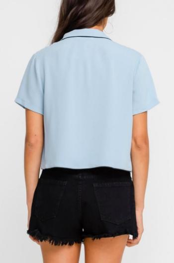 Chambray Bowler Shirt