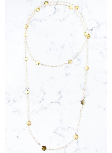 Shira Melody Jenna Wrap Necklace