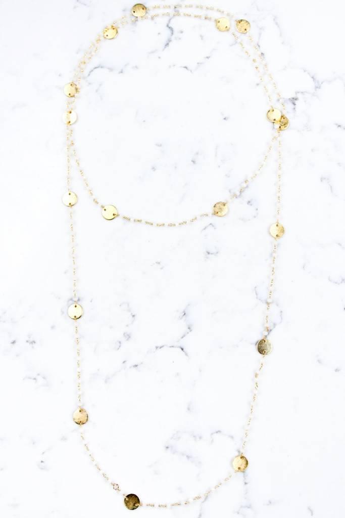 Shira Melody Jenna Wrap Necklace