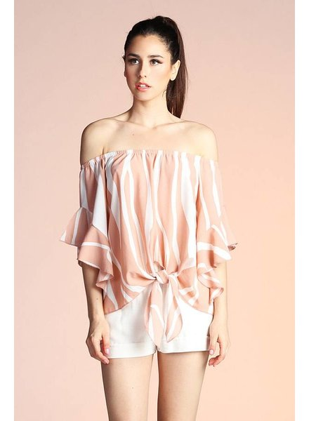 Tyche Shiloh Off Shoulder Top