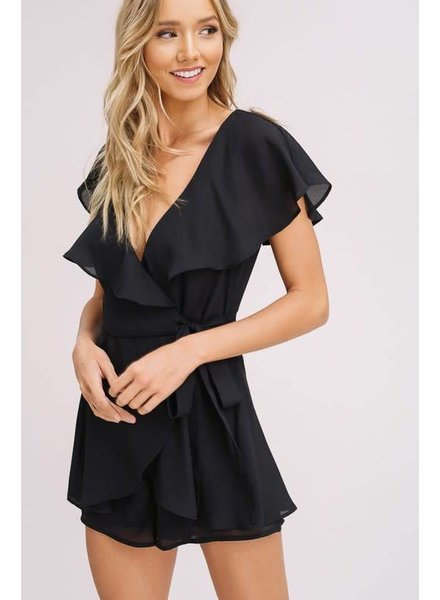 Listicle Ruffle Playsuit