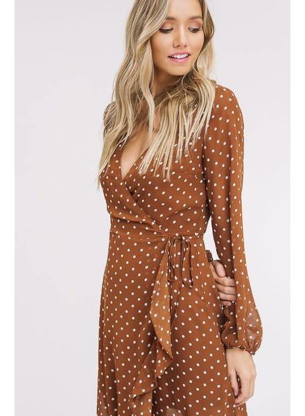 Listicle Polka Dot Maxi