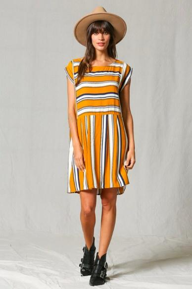 By Together Olivia Stripe Dress