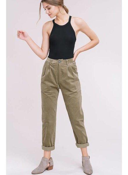 Listicle Maya Corduroy Pants