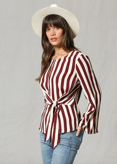 By Together Lucy Stripe Top