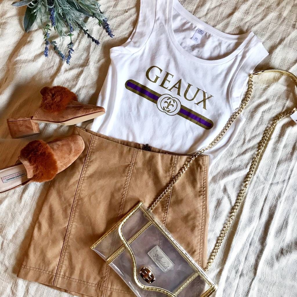 """Sarah Ott Geaux """"Gucci"""" Tee"""