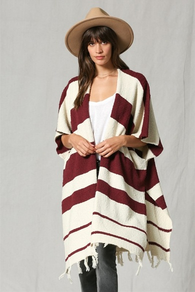 By Together Carrera Striped Cardi