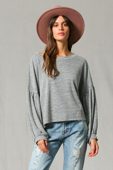 By Together Cora Striped Tee