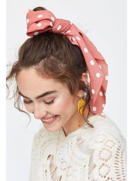 Avenue Zoe Ribbon Scrunchies