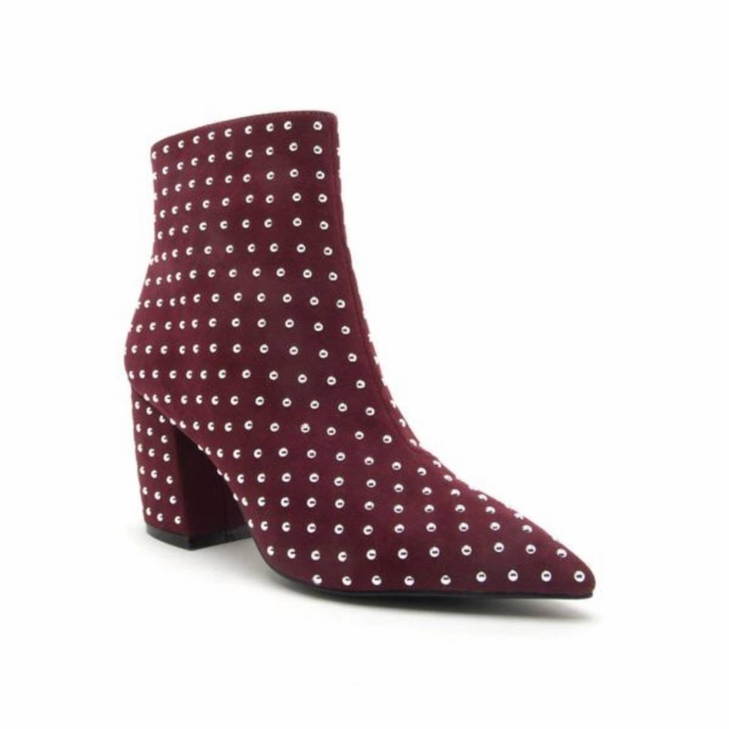Qupid Gia Studded Booties