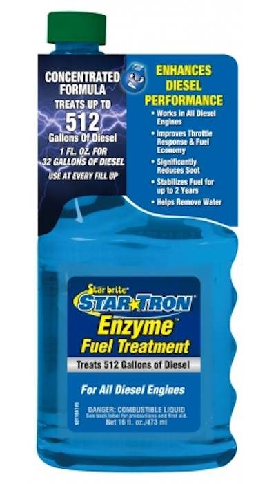 Starbrite STARBRITE STARTRON DIESEL ENGINE TREATMENT 8OZ 93108