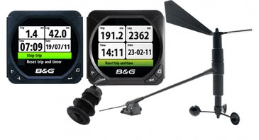 B&G B&G TRITON,2X DISP,SPEED/DEPTH/WIND PACK