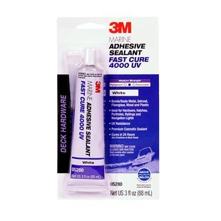 3M Products 3M SEALANT 4000 UV 05280 FAST CURE WHITE 3OZ.
