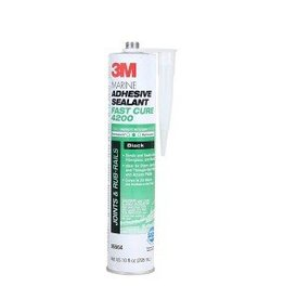 3M Products 3M 4200 FAST CURE BLACK 10oz CARTRIDGE 6564