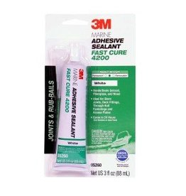 3M Products 3M 4200 FAST CURE WHITE 3OZ TUBE 5260