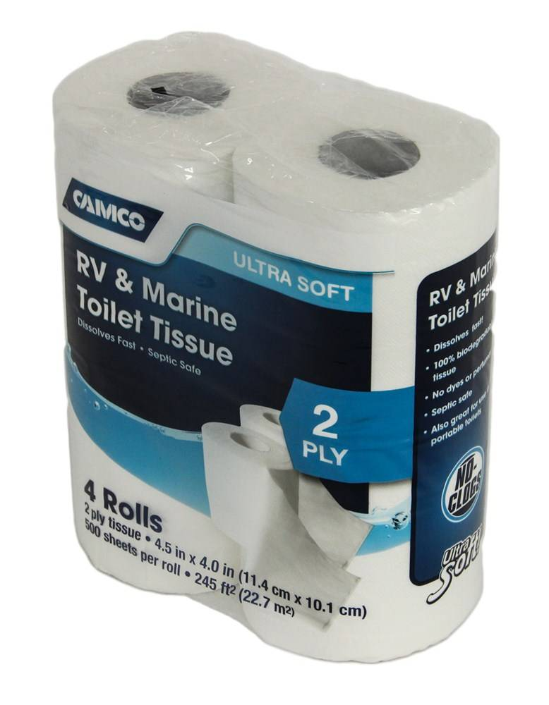 Camco CAMCO TOILET TISSUE CAM40274 4PACK 2PLY