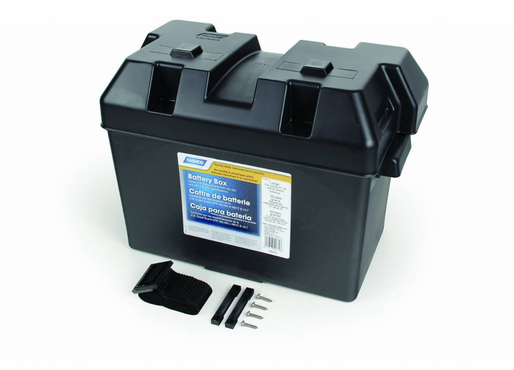 Camco CAMCO LARGE BATTERY BOX 55372