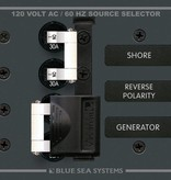 Blue Sea BLUE SEA PANEL AC SOURCE SELECTOR 30A 8032