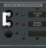 Blue Sea BLUE SEA PANEL AC 8029 MAIN/1 POS. 30 AMP