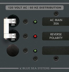 Blue Sea BLUE SEA PANEL AC 8029 MAIN/1 POS. 30 AMP