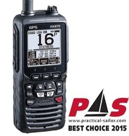 Standard Horizon STANDARD RADIO VHF HX870S H/HELD 6W FLT W/GPS