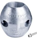 Canada Metals CANADA METALS SHAFT ANODE 7/8'' MAGNESIUM CMX-02M