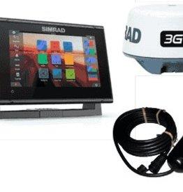 Simrad Simrad GO7 XSR w/3G Radar, Totalscan & Nav+