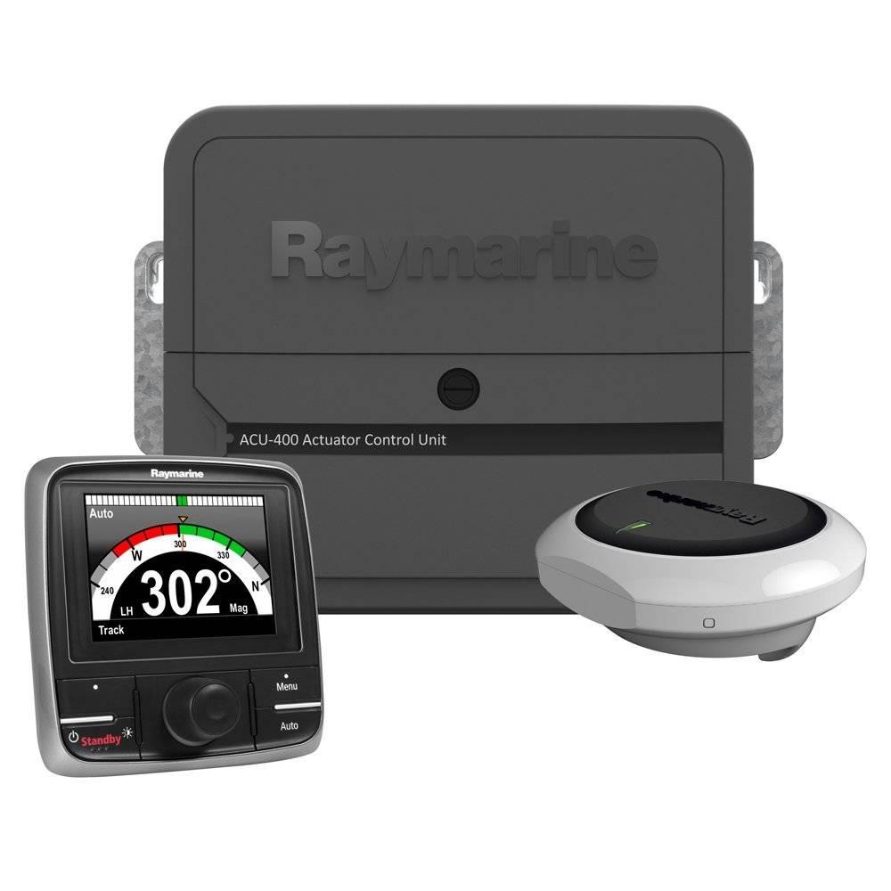 Raymarine Ev 400 Power Autopilot With P70rs Control Head Acu Unit Hydraulic Description Ev1