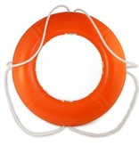 Dock Edge DOCK EDGE LIFE RING BUOY 24'' ORANGE CCG APPROVED 55-143-F