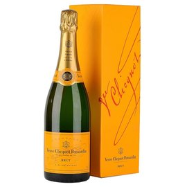 VEUVE CLICQUOT VEUVE CLICQUOT CHAMPAGNE YELLOW BRUT NV 750 mL