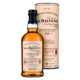 BALVENIE BALVENIE CARIBBEAN CASK SINGLE MALT 14 YEAR 750 mL